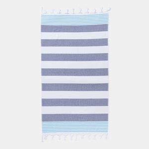 Textil Tarragó Toalla de Playa fouta hamman, 100% algodón Egipcio,Doble Rizo pestamal 90x180 cm PEST16