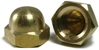 Stainless Steel 18-8 25 Standard Height 3//8-24 Acorn Cap Nuts Plain Finish