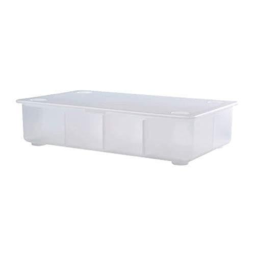 IKEA Glis Box mit Deckel transparent 002.831.03 Größe 13 3/8x8 1/4 Zoll