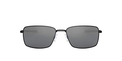 Oakley Square Wire 4075 Gafas, Polished Black/Prizmblack, 60 para Hombre