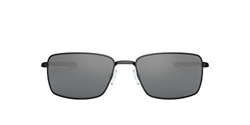 Oakley Square Wire 4075 Gafas, Polished Black/Prizmblack, 60 para Hombre
