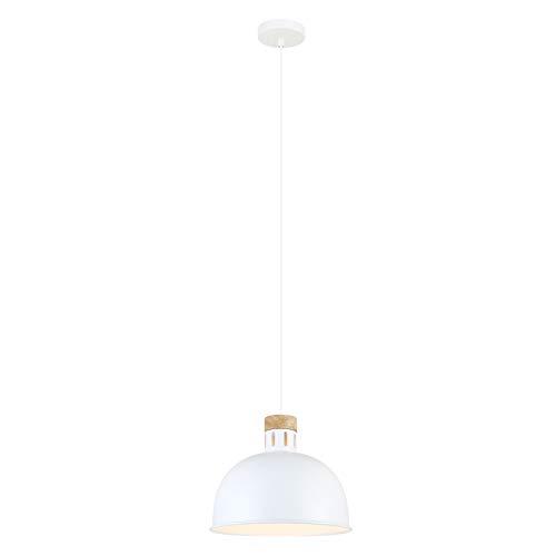 Lussiol 250486 Suspensions d'éclairage intérieur, Métal, Blanc
