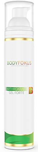 BodyFokus ArthroKraft Gel Forte - Veganes Gel für Gelenke und Muskeln mit Weihrauch, Calendula uvm. - 1 Spender