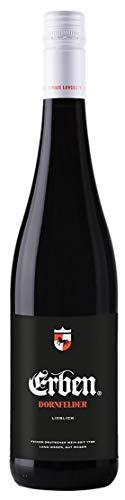 Erben Dornfelder Lieblich – Fruchtig-milder Rotwein aus Deutschland –(1 x 0.75 l)