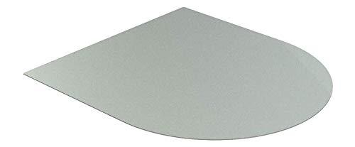 Pedana Salvapavimento Da Scintille e Braci - Dimensioni: 1000x900 mm - colore GRIGIO