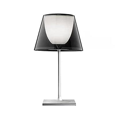 Diseño moderno: esta hermosa lámpara transparente es de vanguardia y crea una experiencia visual diferente. Tiene un aspecto elegante y misterioso, y la lente única agrega belleza a su habitación. Material acrílico: el material acrílico transparente ...