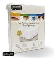Générique Anti Punaise Housse de Protection pour sommiers Anti Insectes Anti moisissures Mattress Safe 140 x 190 x 17
