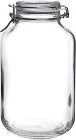 Bormioli Rocco Jar, 135.25-Ounce, Clear