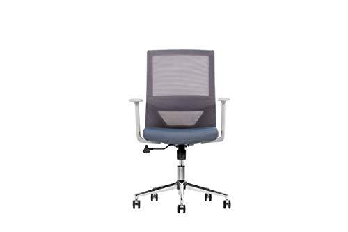 Techno Silla para Oficina y Home Office Modelo Vision Gray