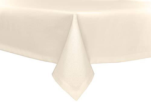 TextiDepot24 tuintafelkleed, linnenlook, lotuseffect, stof, vlekbescherming, strijkvrij