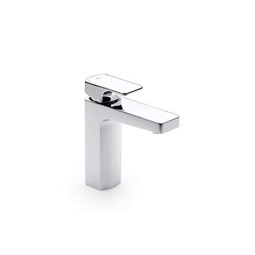Roca L90 Grifo Mezclador de lavabo sin sistema de desagüe. Acabado cromado