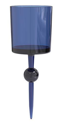The Beach Glass – schwimmender Mehrweg Plastikbecher & Trinkbecher – hochwertiges Acryl Trinkglas als Weinglas, Cocktailglas & Bierglas – Partybecher für Pool, Strand & Camping – 350 ml