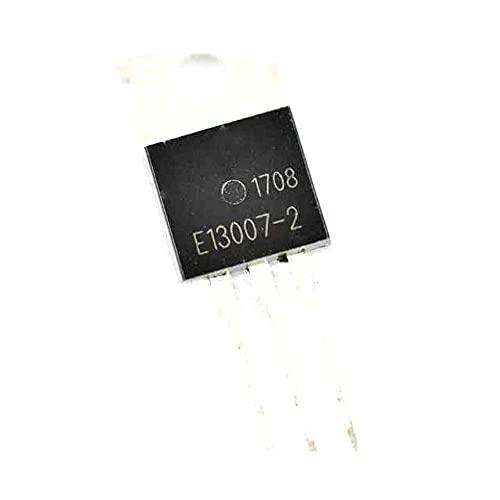 FBUWX Eficiente 10pcs / Lot J13007-2 E13007-2 NPN 8A / 700V TO-220 Interruptor de alimentación de Alto Voltaje Reemplazo Desgastado