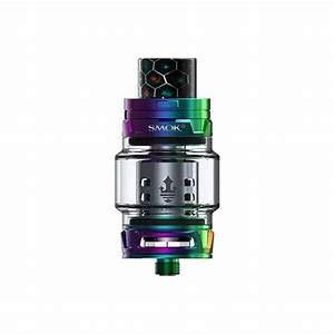 Smok TFV12 Prince Tank 8ml E-Zigarettes Atomiser/Original Kein Nikotin Kein Tabak (Regenbogen)