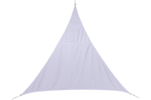 HESPERIDE 117746 – Tenda Parasole di 3 x 3 x 3 m per Fare Ombra nel Giardino, sul terrazzo o sul Balcone, Colore: Bianco