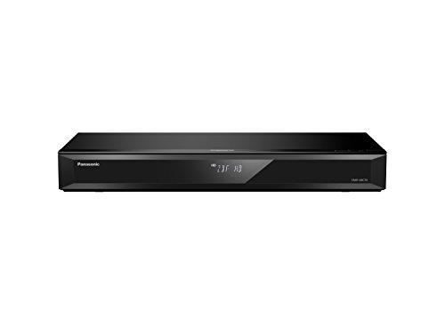 Panasonic DMR-UBC70EGK UHD Blu-ray Recorder (500GB HDD, 4K Blu-ray Disc, WLAN, 4K VoD, UHD TV Empfang, 2x DVB-C/T2 HD Tuner)