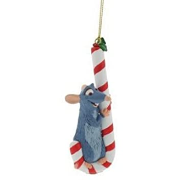 Disney/Pixar Keepsake President's Edition Ornament by Grolier - Ratatouille 'Remy on Candy Cane' - 2008