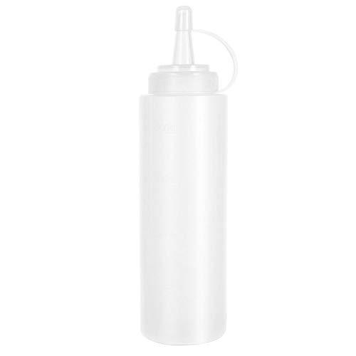 Kunststoff-Salat Werkzeug Squeeze Container Sauce Ketchup Senf Flaschen Lids Öl Squeeze-Flasche Für Heim Barbecue Party 1pc