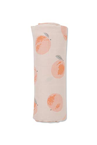 Angel Dear Luxurious Soft Swaddle Baby Blanket, Peachy, Large 47x47'