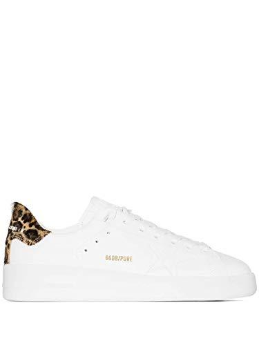 Golden Goose Luxury Fashion Damen GWF00124F00031010269 Weiss Leder Sneakers | Herbst Winter 20