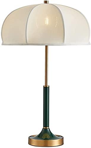 YQCX Lámpara de Mesa Lámparas de Mesa Modernas para la Sala de Estar Note de Noche Amp; Lámparas de Mesa Lateral con Sombra Blanca para la Cama para la Oficina de Estudio de la Ofi