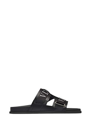 Valentino Luxury Fashion Herren TY0S0D41IGF0NO Schwarz Sandalen | Frühling Sommer 20