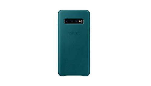 Samsung EF-VG973LGEGWW Custodia in Pelle per S10, Verde
