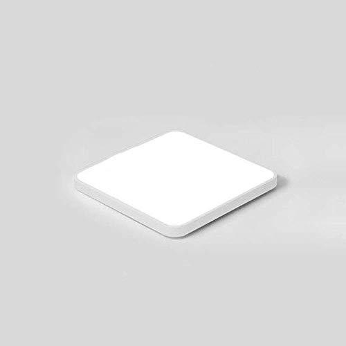 Home 18 W, 36 W, 45 W, 72 W, 48 W, impermeable, LED empotrada, lámpara de techo moderna, cuadrada, fina, para cocina, salón, dormitorio, pasillo con mando a distancia