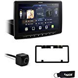 Alpine iLX-F309 HALO9 Receiver w/ 9-inch Touch Screen, Single-DIN Mounting, Includes Alpine Backup Cam & Plate Mount
