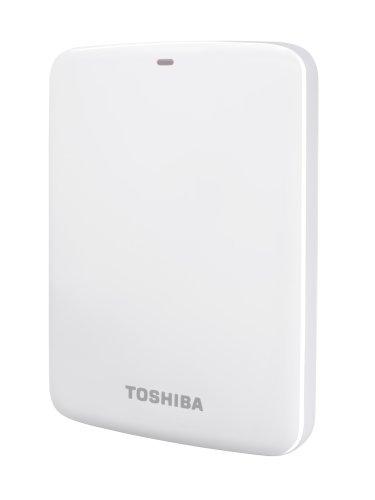 Toshiba Canvio Connect externe Festplatte 1 TB 6,4 cm (2,5 Zoll) USB 3.0 weiß