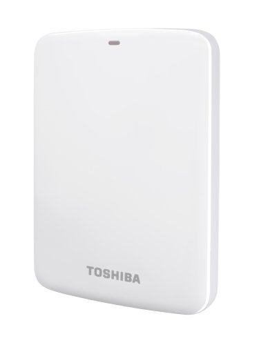 Toshiba Canvio Connect externe Festplatte 1 TB 6,4 cm (2,5 Zoll) USB 3.0 weiß
