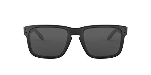 Oakley Holbrook - Gafas de sol cuadradas para hombre, color negro mate, 55 mm 🔥