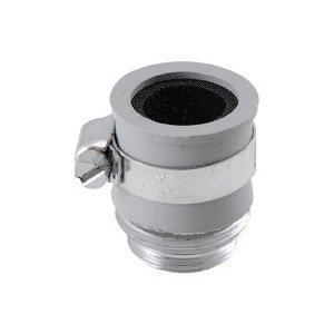 Ldr 5002043 Faucet To Hose Adaptor, Chrome, 1/card