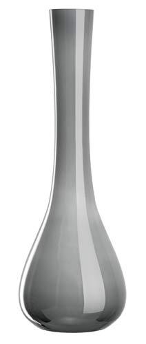 LEONARDO HOME SACCHETTA Vase, grau