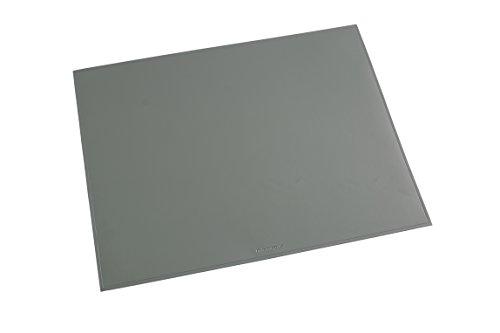 Läufer 40653 Durella Schreibtischunterlage, 52x65 cm, grau, rutschfeste Schreibunterlage für hohen Schreibkomfort