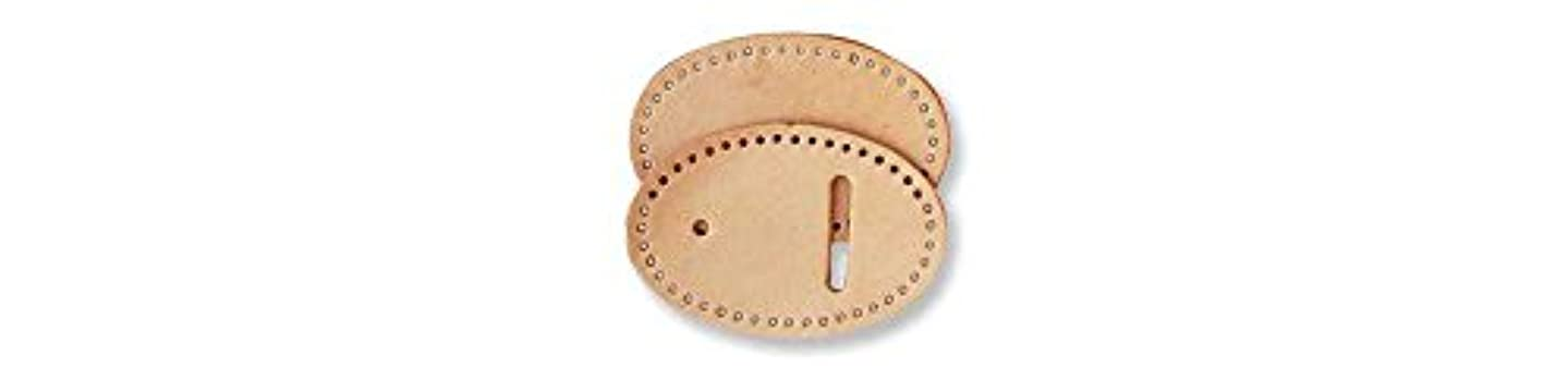 Tandy Leather Oval Buckle Leather Small 44583-00
