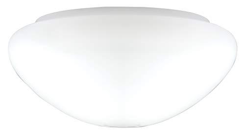 Westinghouse Lighting 8704640 - Tulipa Opal con Forma de Seta, Blanco, 19.1 cm