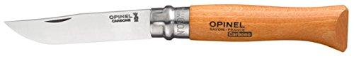 Opinel 04429VRN - Navaja de acero al carbón, color beige, talla 9 cm