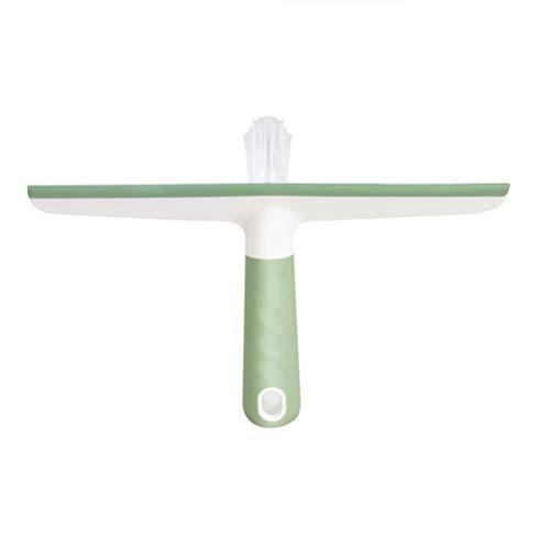 BESPORTBLE Weiches Plastikglas, das Badezimmer-Glaswischer-PP-Griff-Glas-saubere Bürste-Hauptgebrauch abstreift