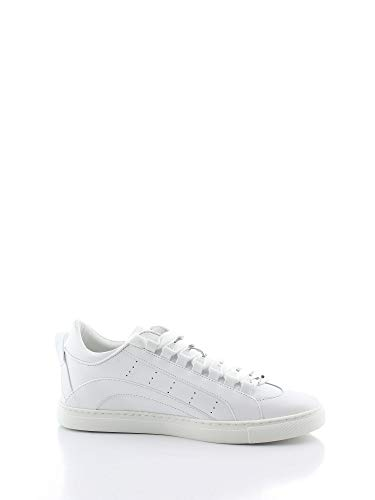 DSQUARED2 Luxury Fashion Herren SNM0090065000011062 Weiss Sneakers | Frühling Sommer 20