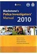 Blackstone's Police Investigators' Manual and Workbook 2010