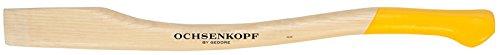 OCHSENKOPF Ersatzstiel für EURO-Axt, Stiel aus Eschenholz, 800 mm, 550 g, Kuhfuß, Forstwerkzeug, OX E-83 E-0800