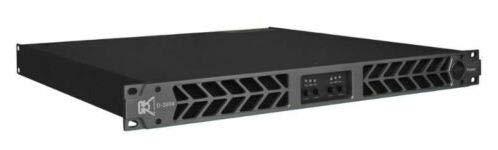 CVR D-2004 Series Professional Power Amplifier 1 Space 2000 Watts x4 at 8Ω BLACK