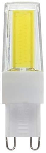 Lampadina LED G9 COB 2608, 9 Watt, luce bianca fredda, dimmerabile, 220 V