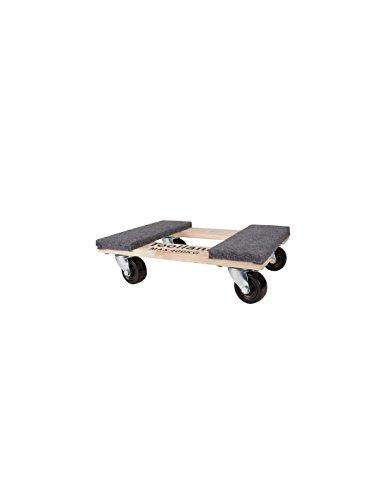 Perel QT409 Support roulant pour meubles rectangulaire 460 x 320 mm charge maxi 400 Kg