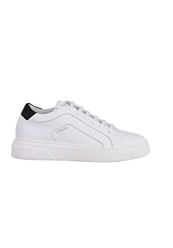Copenhagen Sneaker Vitello Schnürer Plateausohle Leder weiß Größe 40