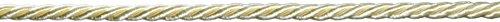 Decorative Trimmings 09115-8-010Y-029 Twist Cord Trim, 1/4' x 10 yd, Ivory