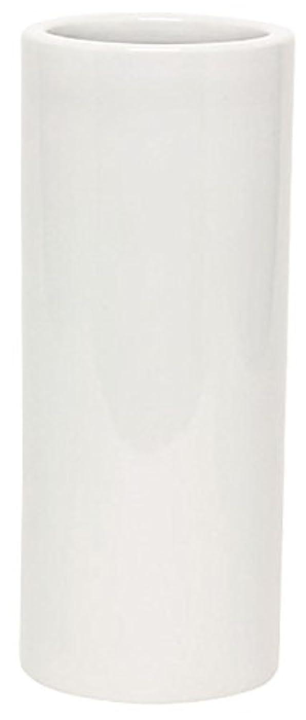 ハウジングレモン文マルエス 花瓶 御仏具 白無地投入花瓶 7.0寸 ホワイト