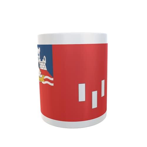 U24 Tasse Kaffeebecher Mug Cup Flagge Belgrad