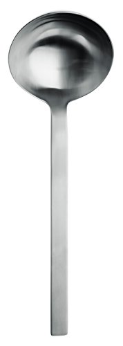 Puresigns ONE Extra Suppenschöpfer 25cm Edelstahl Matt Silber